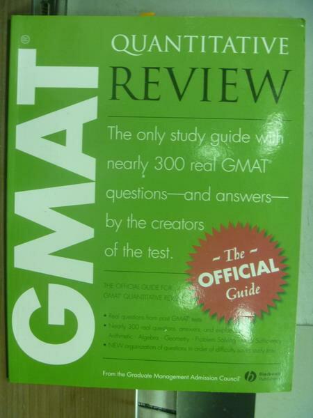 【書寶二手書T8/原文書_PJJ】Quantitative review_2005