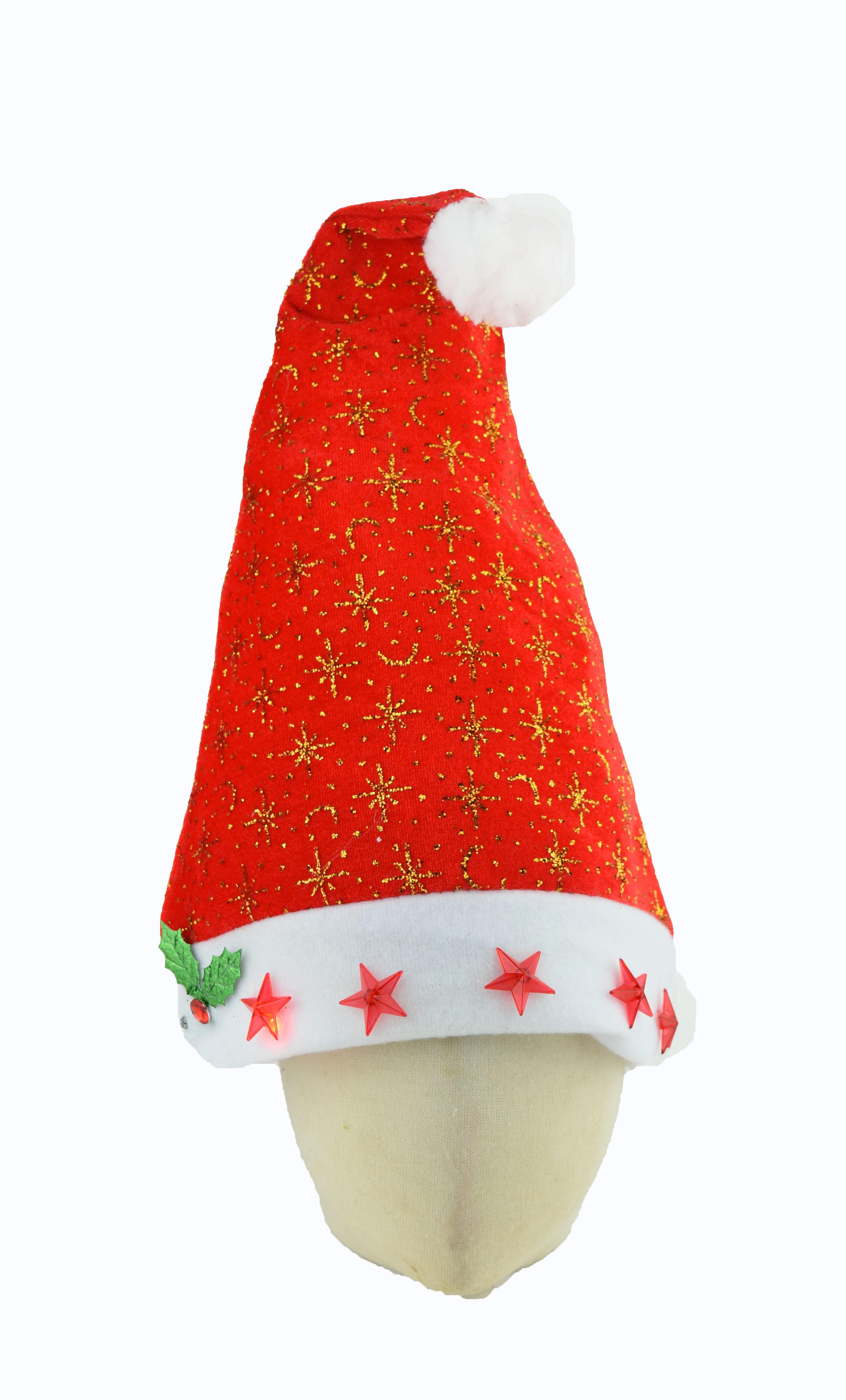 X射線【X294075】閃燈裝飾聖誕帽,聖誕節/派對用品/舞會道具/cosplay/角色扮演/麋鹿/表演/情趣/園遊會/校慶