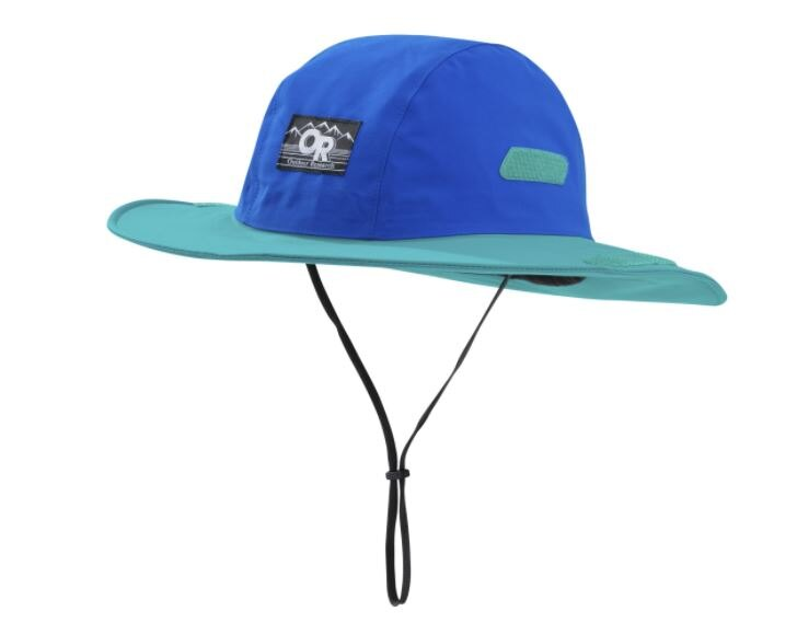【鄉野情戶外專業】 Outdoor Research  美國  Seattle Retro GTX 防水圓盤帽/Gore-Tex 登山帽 健行帽 防曬帽 遮陽帽-冰河藍/綠/264407