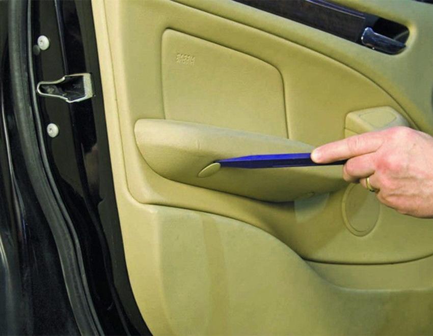11pc Trim Removal Tool Set Clip Interior Wedge Panel Dash Trim Removal Clip Nylon Plastic 3