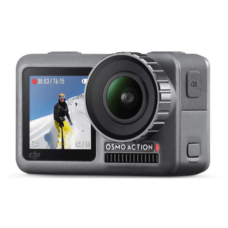 ◎相機專家◎ DJI OSMO Action 運動相機 雙螢幕 防水 防塵 4K錄影 8倍慢動作 公司貨