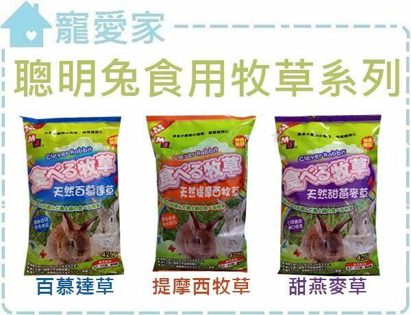 ~寵愛家~聰明兔食用牧草系列~425g,果園百慕達  提摩西  甜燕麥  苜蓿草