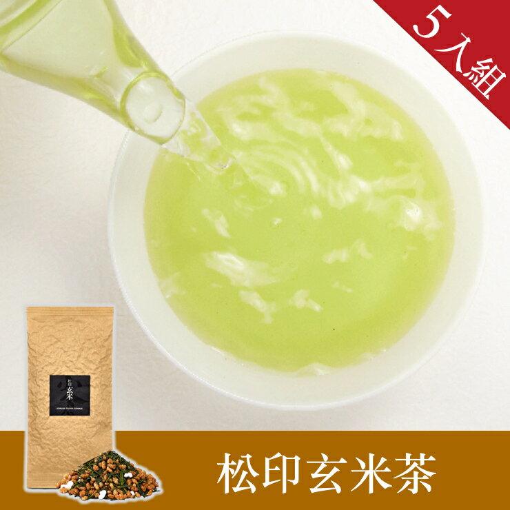 【辻利茶舗】松印玄米茶茶葉 5入組~完美融合米香茶甜~具有紓壓效果~適合製作茶泡飯~一起買最優惠 0