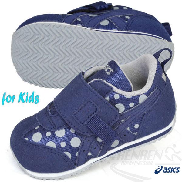 ASICS亞瑟士 兒童學步鞋 IDAHO BABY PT-ES 2 (藍*點點) 14-15.5 CM
