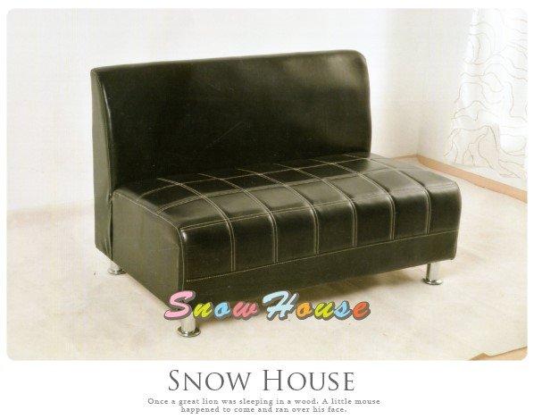 ╭☆雪之屋居家生活館☆╯@AA486-04美式風格西餐廳沙發座椅(黑色)造型沙發雙人沙發三人沙發坐臥床