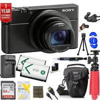 Sony Cyber-shot DSC-RX100 VI Digital Camera + 64GB Dual Battery Accessory Kit