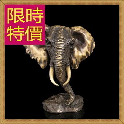 銅雕擺件招財象 ~歐洲 家居擺設雕塑工藝品61ac12~義大利 ~~米蘭 ~