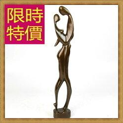 ★銅雕擺件戀人-歐洲現代家居擺設雕塑工藝品61ac20【義大利進口】【米蘭精品】