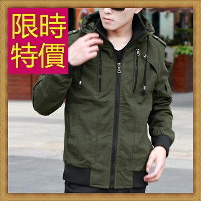 軍裝外套男夾克-時尚個性韓版修身立領男外套7色62o5【韓國進口】【米蘭精品】