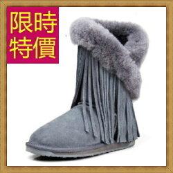 ★雪靴中筒女靴子-流行柔軟保暖皮革女鞋子5色62p12【韓國進口】【米蘭精品】