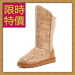 ★雪靴中筒女靴子-流行柔軟保暖皮革女鞋子1色62p8【韓國進口】【米蘭精品】