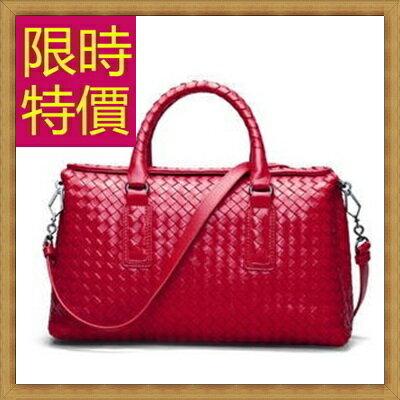 編織包  真皮手提包-時尚手工皮革側背女包包13色62t47【法國進口】【米蘭精品】