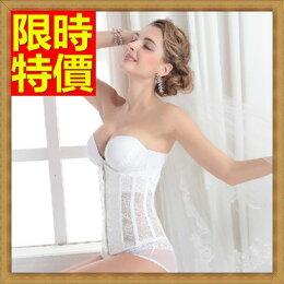 ★塑身馬甲調整型內衣-產後無肩帶婚紗美體女塑身衣7款64ac35