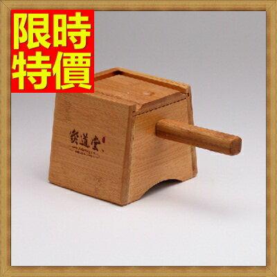 艾草針灸盒艾灸器具 -木製單孔盒溫隨身灸盒多功能65j15【獨家進口】【米蘭精品】