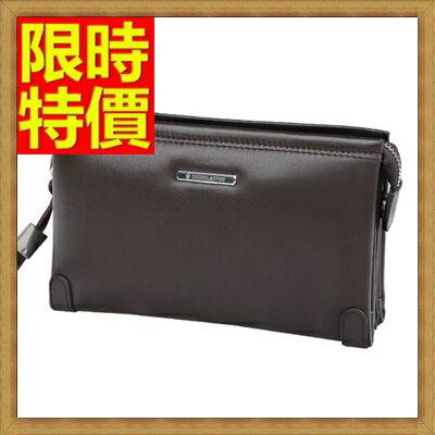 手拿包 錢包~氣度非凡無可挑剔真皮男皮包2色2款~小65s29~ ~~米蘭 ~