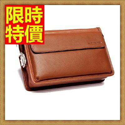 <br/><br/> ☆手拿包 錢包-防刮耐用防水透氣頂級男皮包2色2款-大<a href=