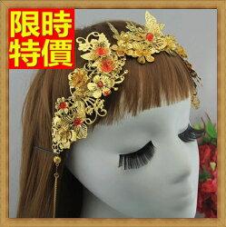 ★髮箍頭飾女飾品-古典氣質皇冠新娘配備13款65w2【獨家進口】【米蘭精品】