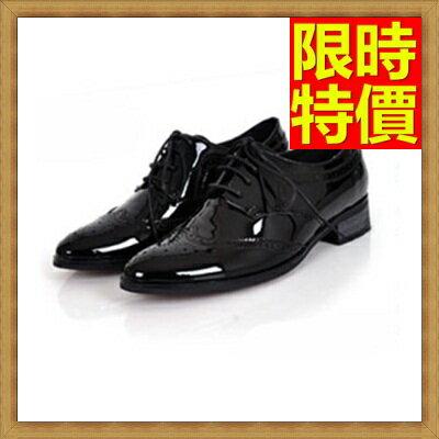 ☆牛津鞋女皮鞋-平跟繫帶真皮英倫女鞋子5款65y34【獨家進口】【米蘭精品】