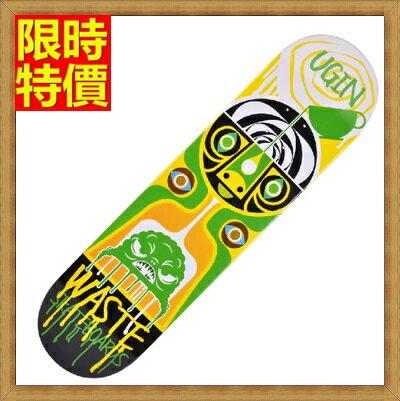 滑板戶外用品-經典個性插畫極限運動蛇板3色66ah37【獨家進口】【米蘭精品】