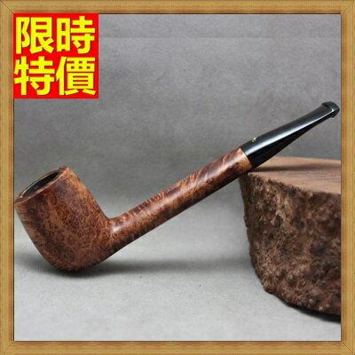 菸斗 木製煙具~煙斗精緻穩重石楠木男士 菸具66j5~ ~~米蘭 ~