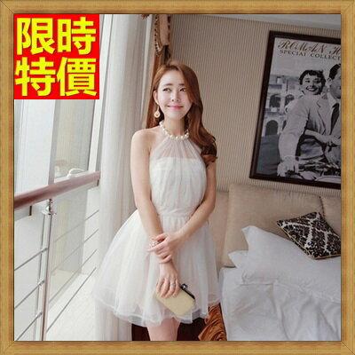 小洋裝夜店裝連身裙 -高貴優雅3D立體剪裁連衣裙66q23【獨家進口】【米蘭精品】