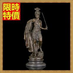 ★銅雕擺件英勇劍士-復古藝術裝飾歐式雕塑工藝品2款66v23【獨家進口】【米蘭精品】