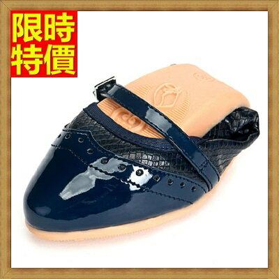 ~女尖頭休閒鞋懶人鞋~精美蛇紋別緻細條絆帶摺疊平底鞋3色66w25~ ~~米蘭 ~