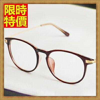 ★眼鏡框眼鏡架-復古文藝學院風流行男女配件5色67ac1【獨家進口】【米蘭精品】 2