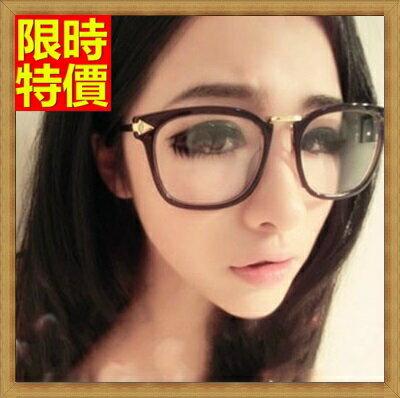 ★眼鏡框眼鏡架-中性百搭復古大框男女配件4色67ac13【獨家進口】【米蘭精品】 1