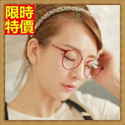 ★眼鏡框眼鏡架-精美時尚復古圓框男女配件67ac27【獨家進口】【米蘭精品】 1