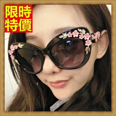 <br/><br/>  ☆墨鏡太陽眼鏡-奢華優雅粉色立體雕花時尚抗<a href=