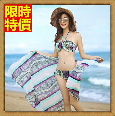 比基尼 泳衣 -波希米亞時尚夏季三件式泳裝 67h23【獨家進口】【米蘭精品】