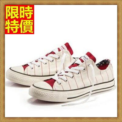 帆布鞋休閒鞋-簡單英倫風格紋透氣男帆船鞋67l15【獨家進口】【米蘭精品】