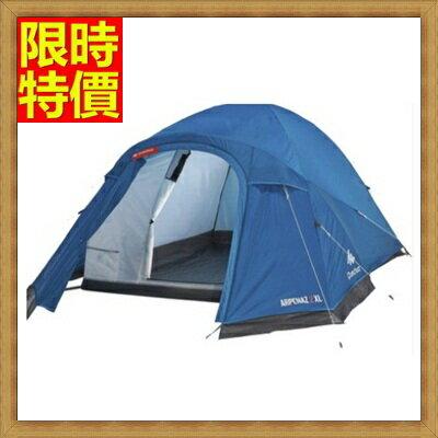 帳篷  登山露營用品快速帳篷  -戶外2-3人雙層防雨快速搭建帳篷  2色68u38【獨家進口】【米蘭精品】