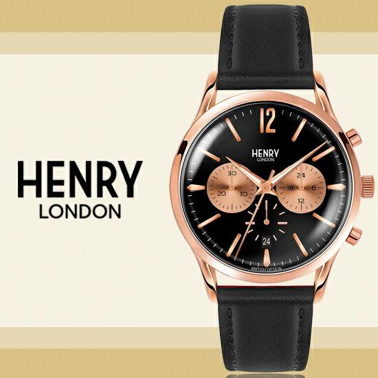 HenryLondon英國前衛品牌RICHMOND計時腕錶HL41-CS-0042公司貨