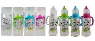 貝喜力克 防脹氣PES握把奶瓶-300ml/M D227(顏色隨機出貨)【德芳保健藥妝】