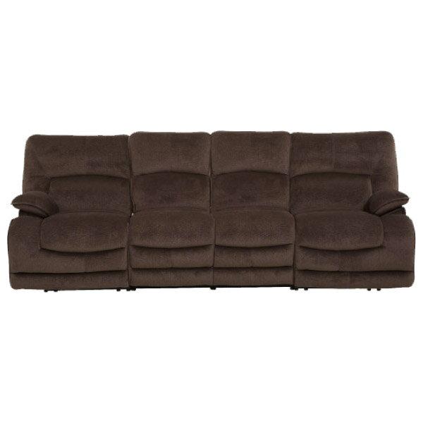◎布質4人用電動可躺式沙發 HIT DBR NITORI宜得利家居