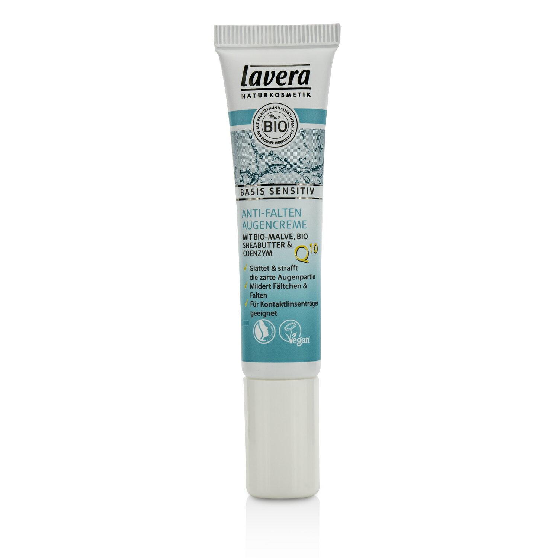 萊唯德 Lavera - 舒敏植萃修護 Q10抗衰老眼霜Basis Sensitiv Q10 Anti-Ageing Eye Cream