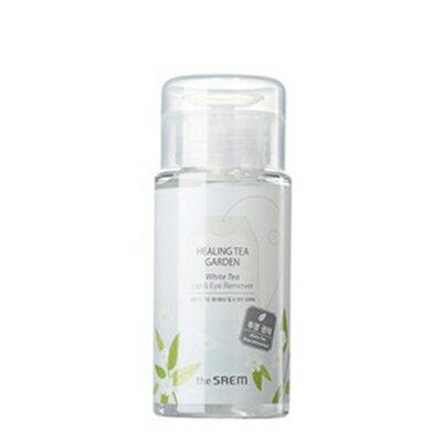 韓國 the SAEM Healing Tea Garden 白茶樹眼唇卸妝液-150ml Healing Tea Garden White Tea Lip & Eyes Remover【辰湘國際】