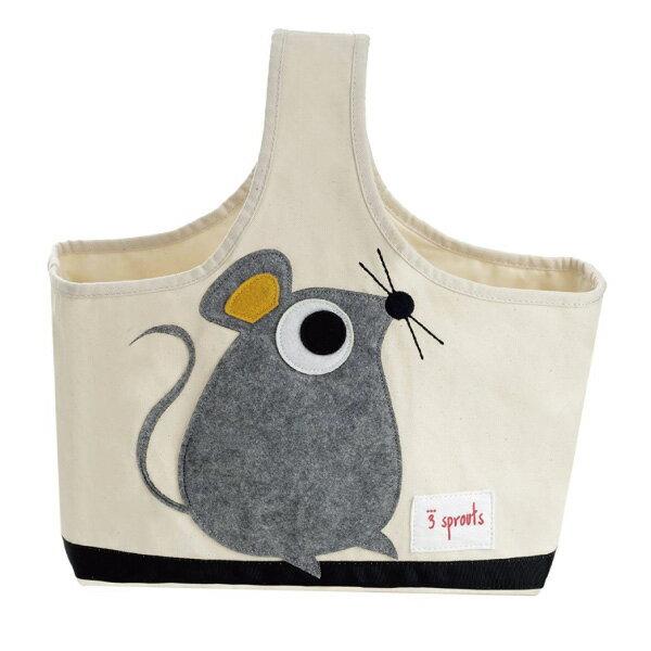 加拿大 3 Sprouts 手提收納包-小老鼠【 貨】好窩 節
