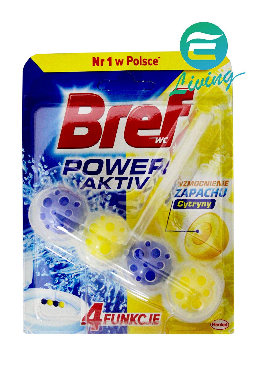 德國 Bref 馬桶強力清潔芳香球 除菌 檸檬 50g