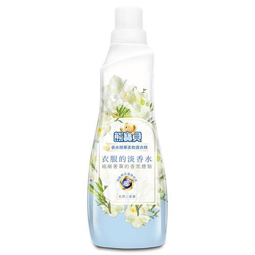 熊寶貝 香水精華柔軟護衣精(氣質小蒼蘭)700ml【愛買】 - 限時優惠好康折扣