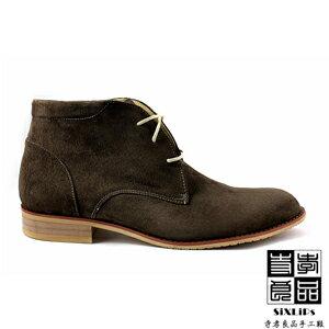 寺孝良品 英倫摩登牛巴戈沙漠短靴 咖啡 5