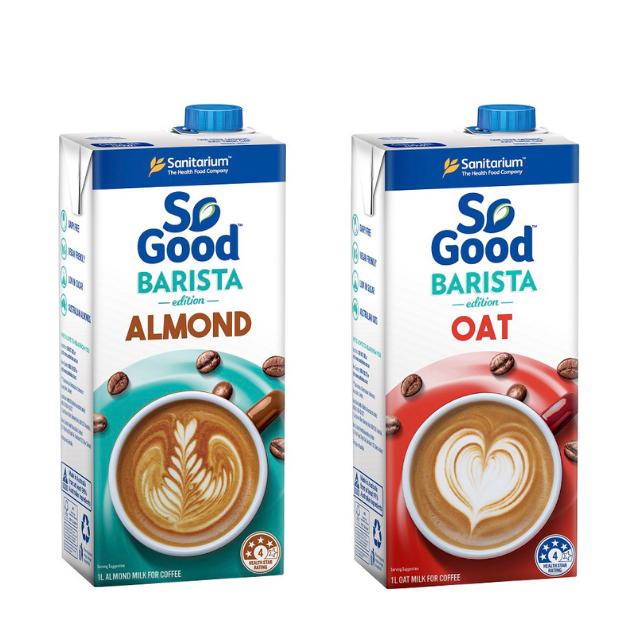 澳洲 SO GOOD 咖啡師燕麥奶/杏仁奶(1000ml)(全素)(超取賣場)