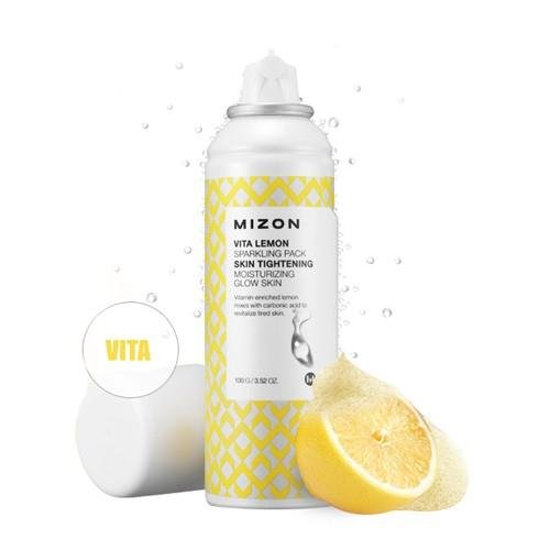 現貨 韓國 MIZON 我要呼吸氧氣導出面膜 維他命檸檬導出面膜 (100g)