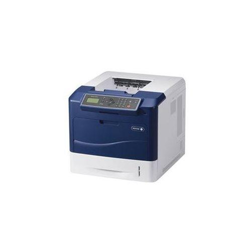 Xerox Phaser 4620DN Laser Printer - Monochrome - 1200 x 1200 dpi Print - Plain Paper Print - Desktop - 65 ppm Mono Print - 650 sheets Standard Input Capacity - 275000 Duty Cycle - Automatic Duplex Print - LCD - Ethernet - USB 1