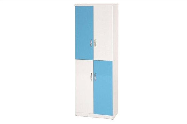 【石川家居】878-03(藍白色)鞋櫃(CT-319)#訂製預購款式#環保塑鋼P無毒防霉易清潔