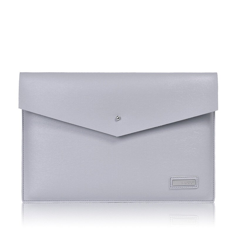 手拿包皮革電腦包-商務純色簡約信封包男女包包3色73vy39【獨家進口】【米蘭精品】 1
