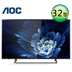 【AOC 艾德蒙】32吋 HD液晶電視 LE32M1266+視訊盒【三井3C】