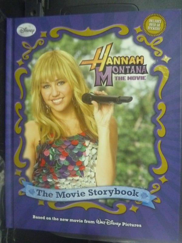 【書寶二手書T2/影視_ZEB】Hannah Montana The Movie Storybook